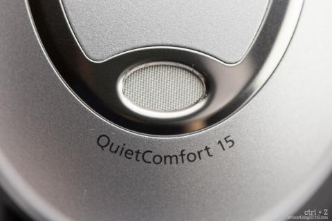 Bose QuietComfort 15 マイク