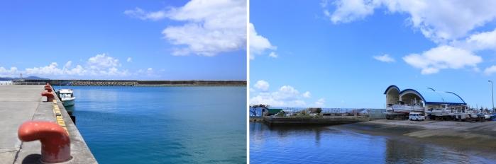 名護漁港 水産物直売所3