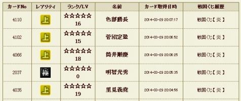 炎5 履歴
