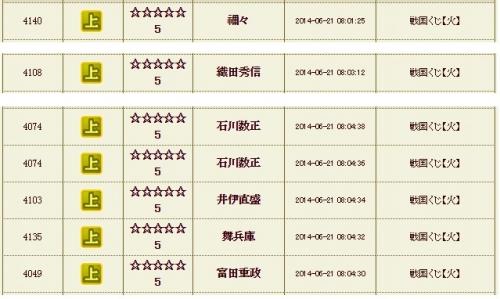 火くじ 石川2連