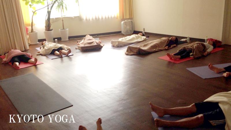 ユキコ先生ハタヨガ&瞑想特別クラス 2014年 京都ヨガ
