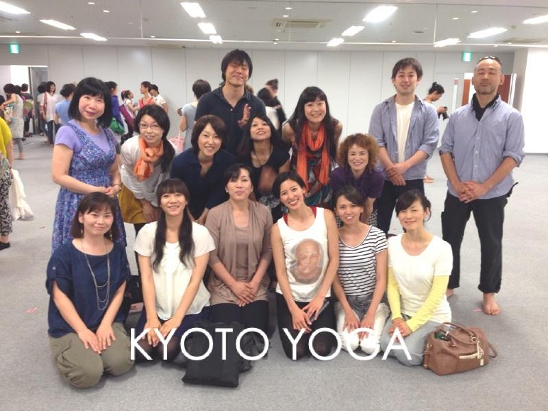 シャラート先生東京WS2014 京都ヨガ