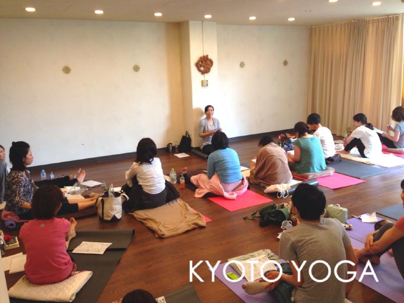 ハタヨガ&瞑想 特別講座6月 2014年 京都ヨガ