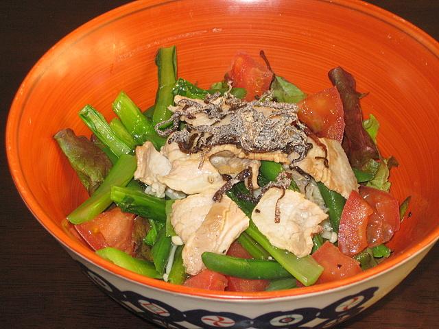 komatuna-salad