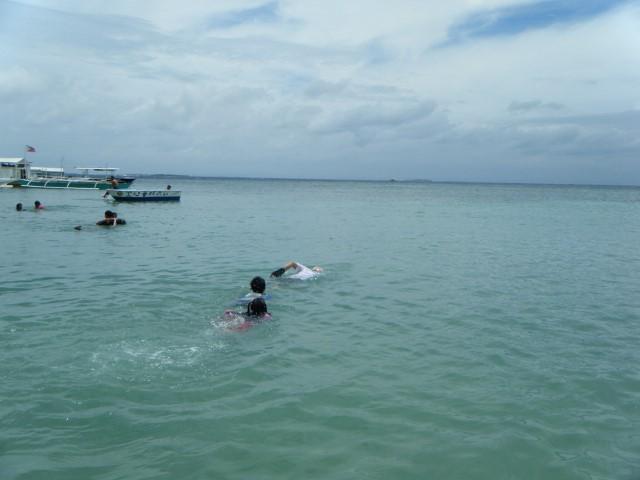 Mikamiさんの泳ぎ