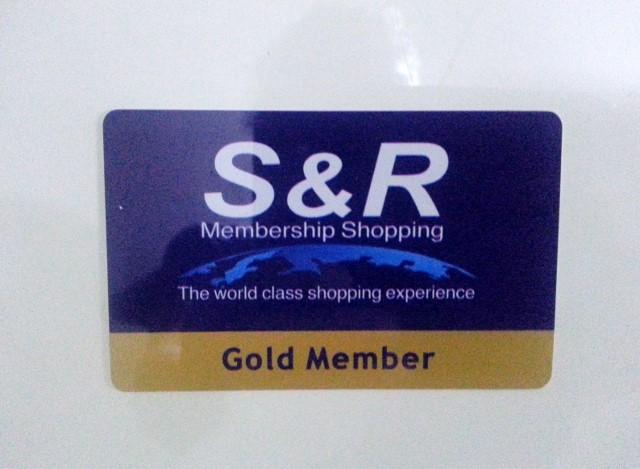 S&Rカード