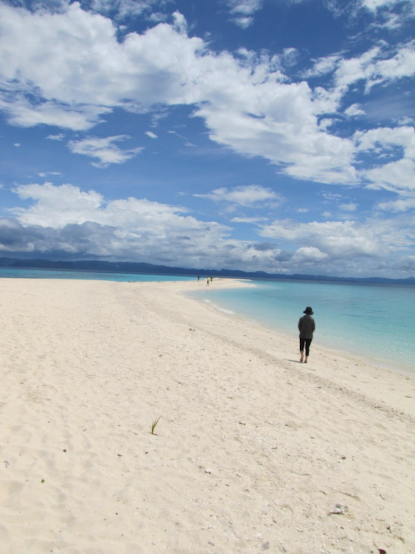 砂と海と雲