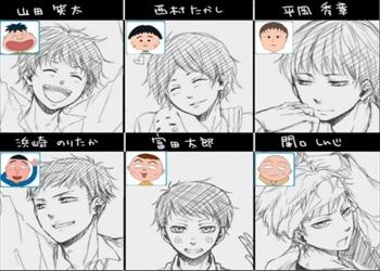 【衝撃】「ちびまる子ちゃん」 を今風の絵にした結果wwwwwwwwwww(画像あり)