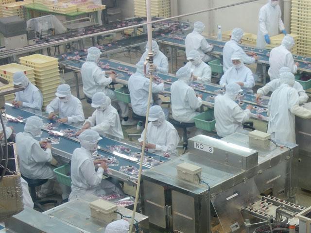 信玄餅工場
