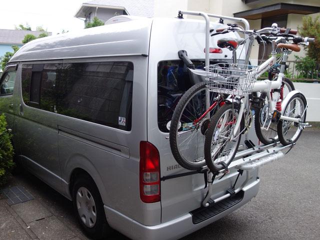 自転車積み込み