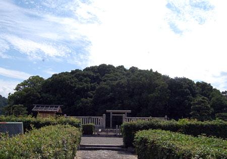 14.8.30宣化天皇陵