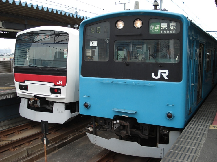 2009年 1月 京葉線 008