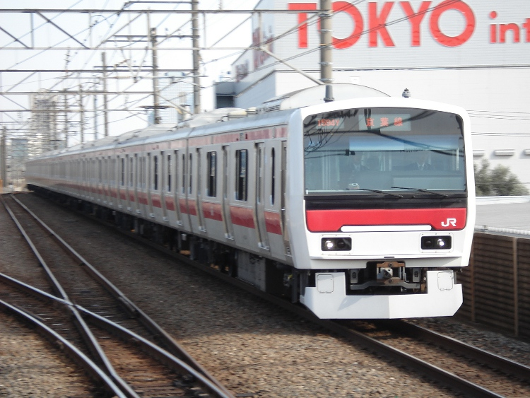 2009年 3月29日 京葉線 京浜東北線 056