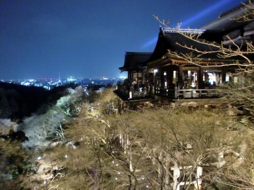 清水寺ライトアップ2014