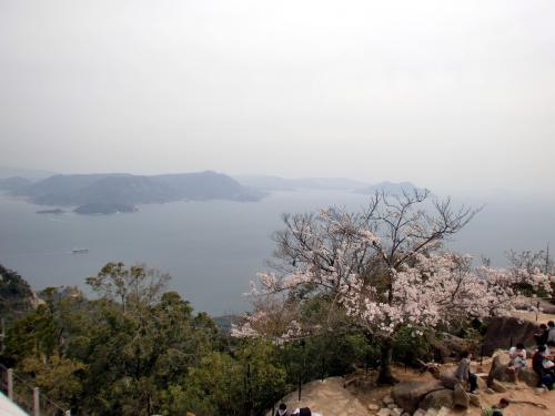 弥山山頂201404