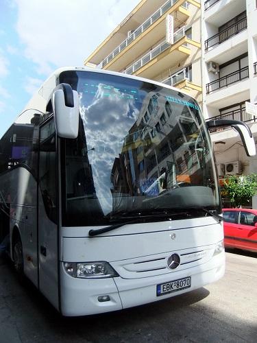 アレクサンドルゥポリからカヴァラ行きバス