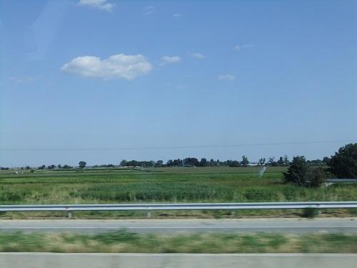 カヴァラへ向かう車窓