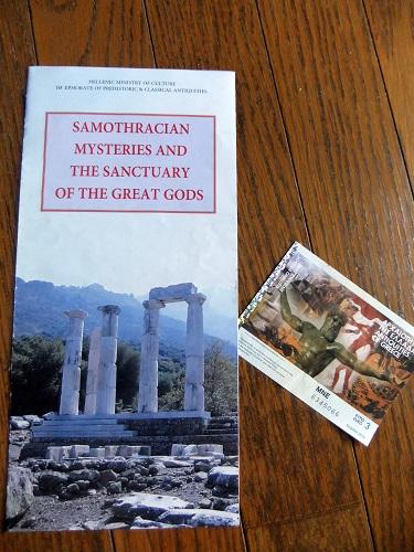 サモトラキ神殿群の案内
