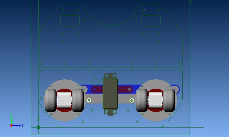 ステアリング機構ポジション4