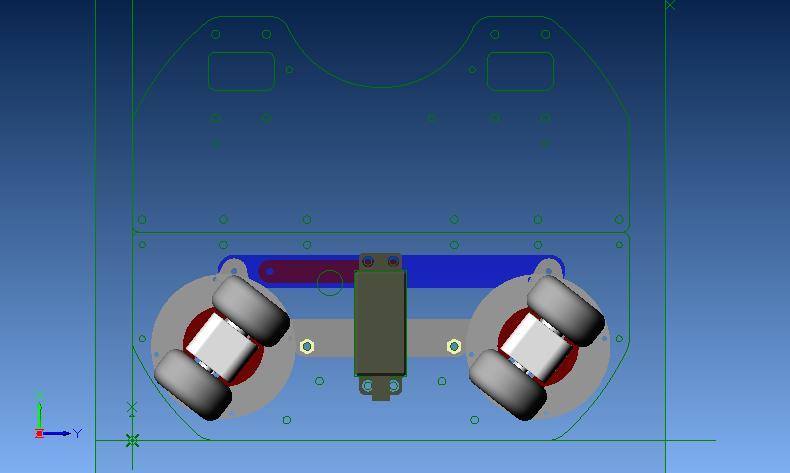 ステアリング機構ポジション3