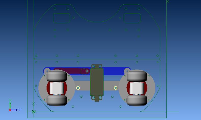 ステアリング機構ポジション2