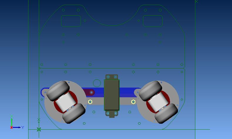 ステアリング機構ポジション1