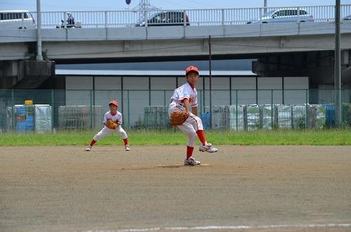 日ハム予選決勝②サウスポ-の好投手擁する湯河原町野球スポ少さん