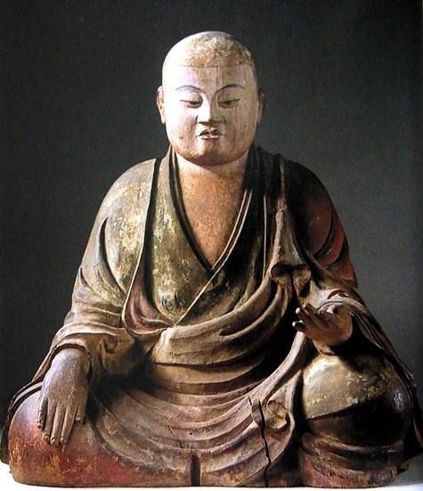 薬師寺・三神像~僧形八幡神像