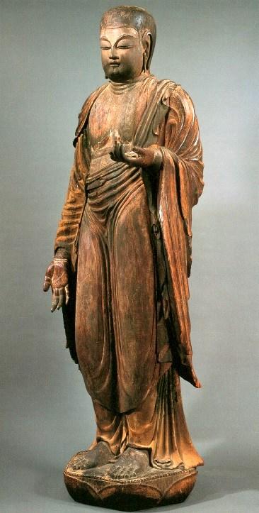 橘寺・伝日羅像