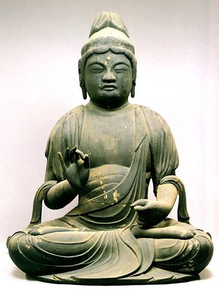 来迎寺・聖観音坐像(「京田辺市の仏像」掲載写真)