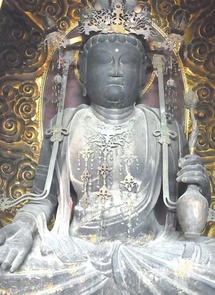 亀岡市・甘露寺・聖観音坐像