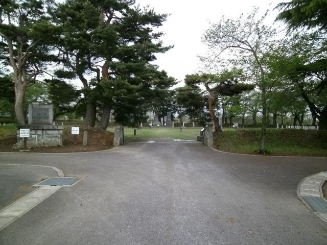 青森陸軍墓地その1 (4)