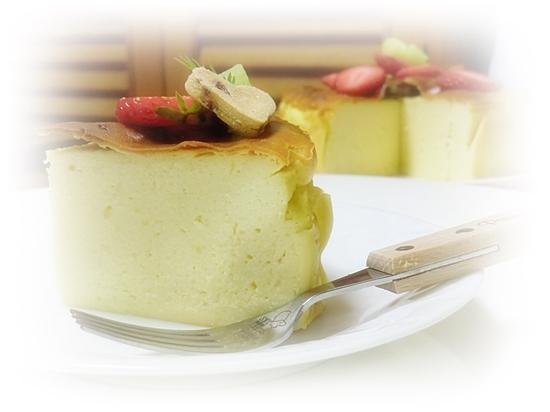 さつまいものクリームチーズケーキ♪