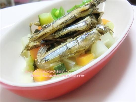 きびなごと根菜の煮物♪