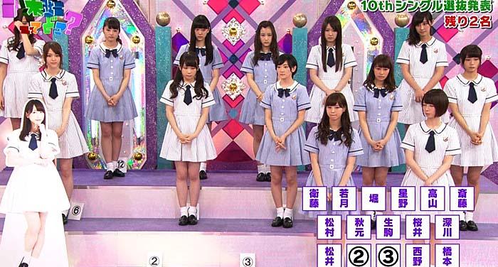 10th シングル選抜