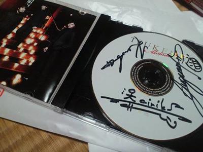 TSUKEMENのサイン入りCD