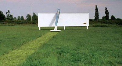 ひげそりの広告