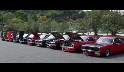 赤い旧車軍団