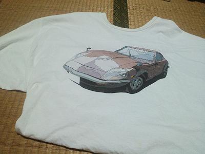 フェアレディZ240ZGのTシャツ
