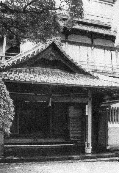菊水楼玄関