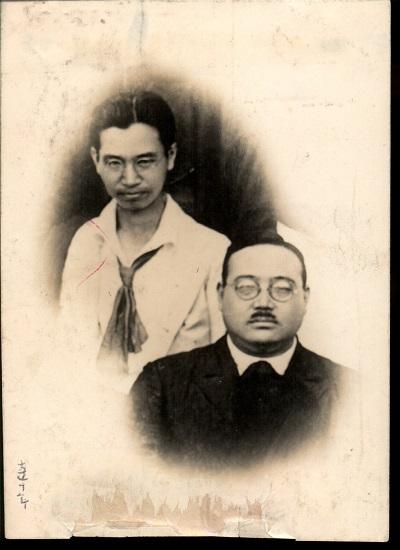 写真賀川と鈴木の