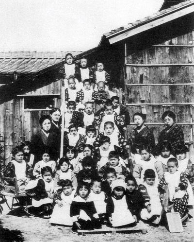 幸の幼稚園教師写真