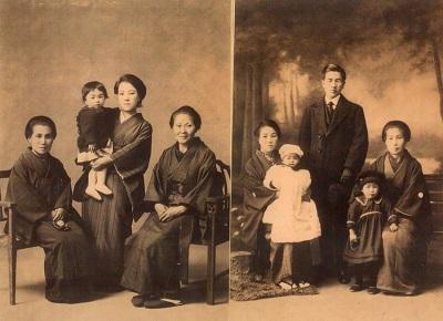 最後に間所家族写真二枚