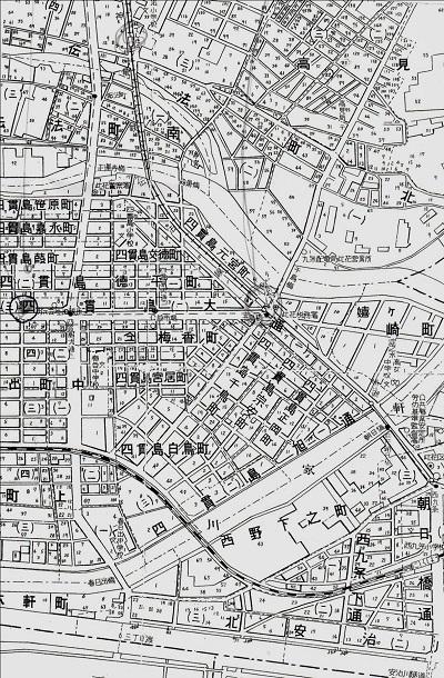 74-11戦後の地図年代不詳
