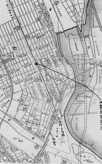 74-9最近の此花区地図