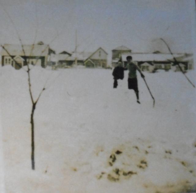 昭和戦前のY先生宅周辺