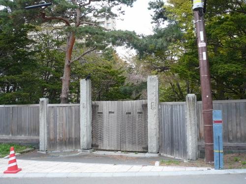 旧中根邸跡②
