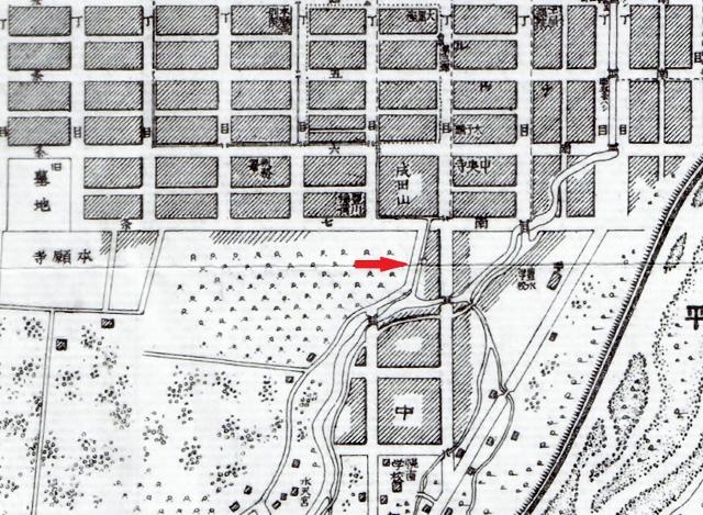 明治34年古地図