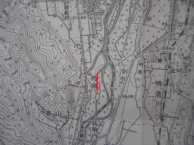 1958年地形図