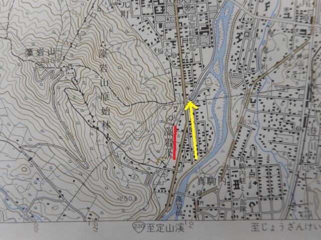 1968年地形図